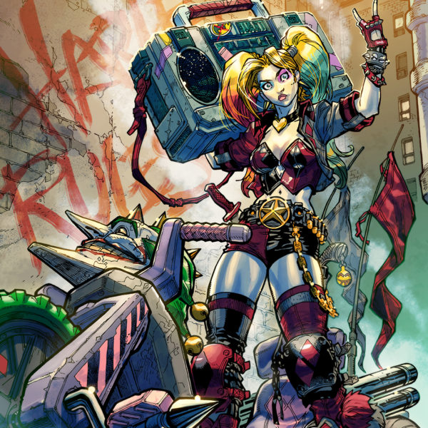 Harley Quinn #1 Alliance Comics Exclusive Variant by Carlos D'Anda.