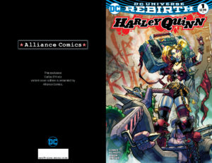 Alliance Comics Exclusive Harley Quinn #1 Variant By Carlos D'Anda